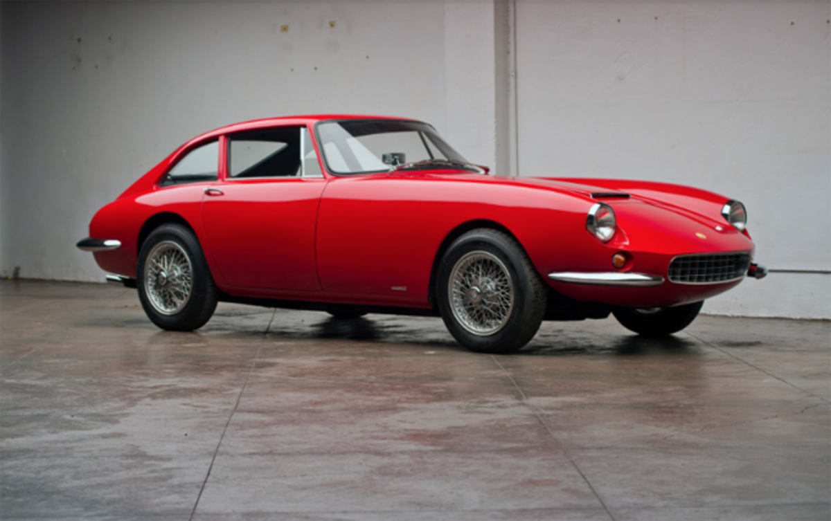 1963 Apollo 3500 GT Coupe. Photo - Worldwide Auctioneers