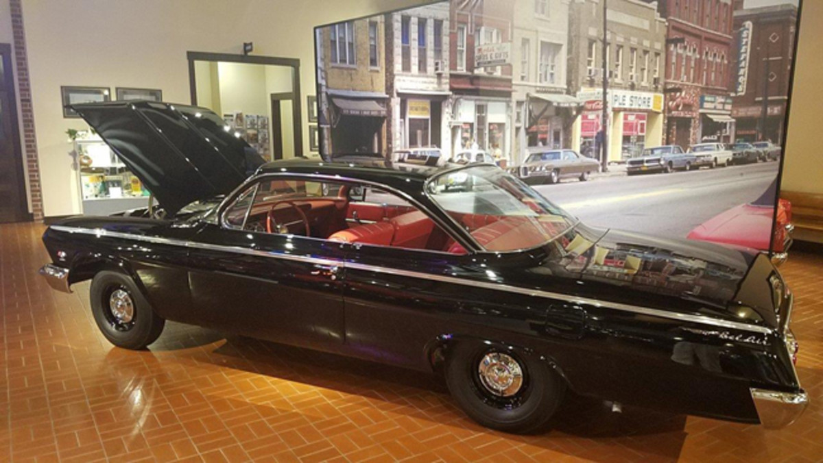 """If you saw this 1962 Chevrolet Bel Air parked along the street or next to at a stoplight you may just assume it was a typical """"Ma & PA"""" car… that is until it takes off or you see the 409 hp engine under the hood."""