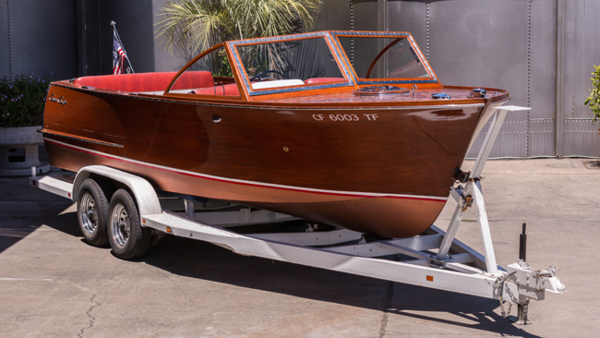 1960 Chris-Craft 24' Sportsman Twin 350 CI Engines, One of 17 Produced