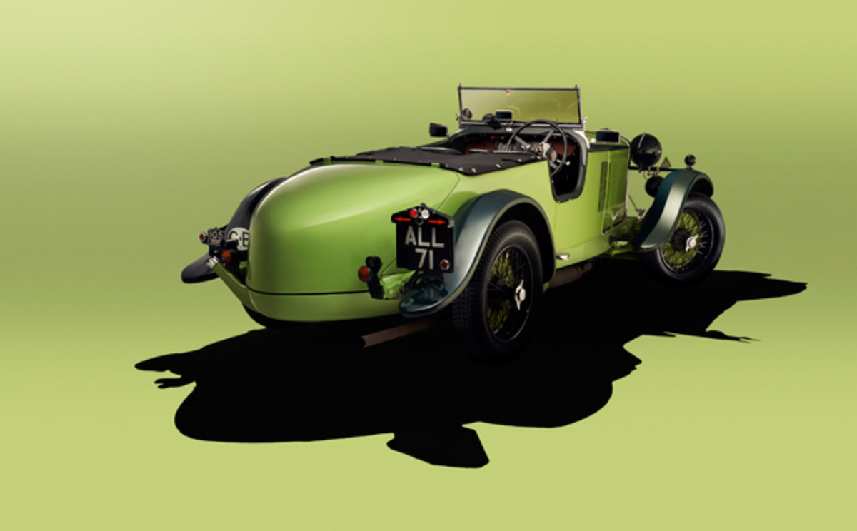 Talbot 105 – finished studio shot produced on the day of the event.