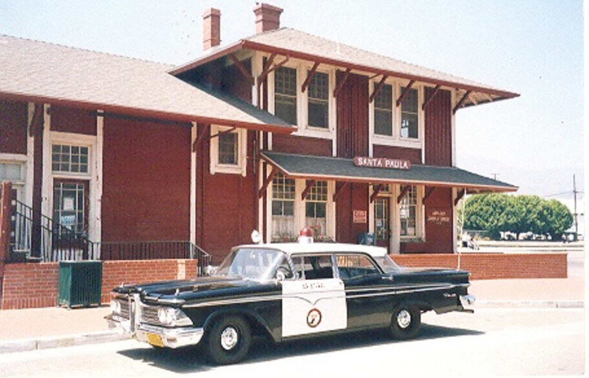 A 1959 Edsel police car is expected at the Gilmore Car Museum's first Emergency Vehicle Show.