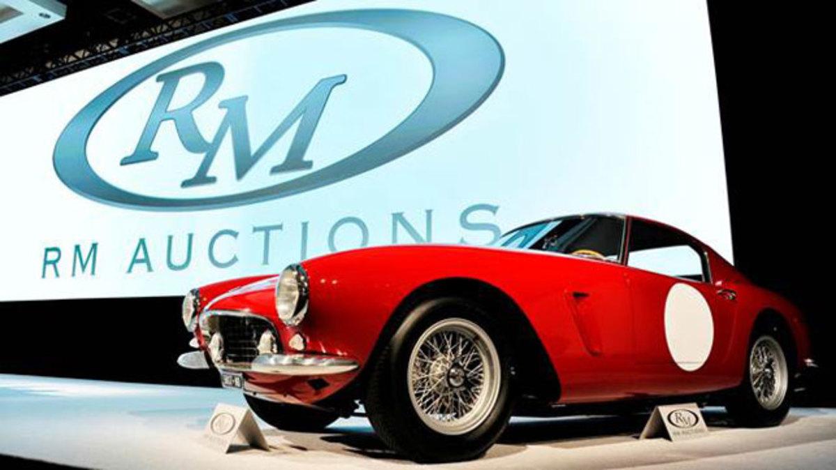 The record-setting #8.14 million 1960 Ferrari 250 GT SWB Berlinetta 'Competizione' (Eugene Robertson © 2013, courtesy RM Auctions)