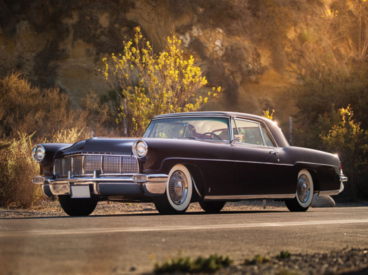 This stunning 1956 Continental Mark II well surpassed its pre-sale estimate at $247,500.
