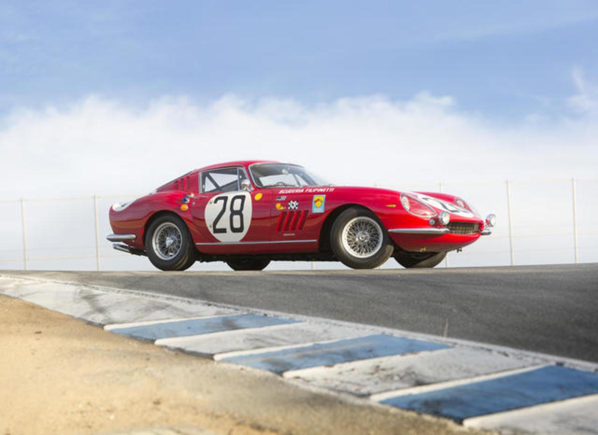 Bonhams sold this 1966 Ferrari 275 GTB Competizione for $9,405,000. (Bonhams photo)