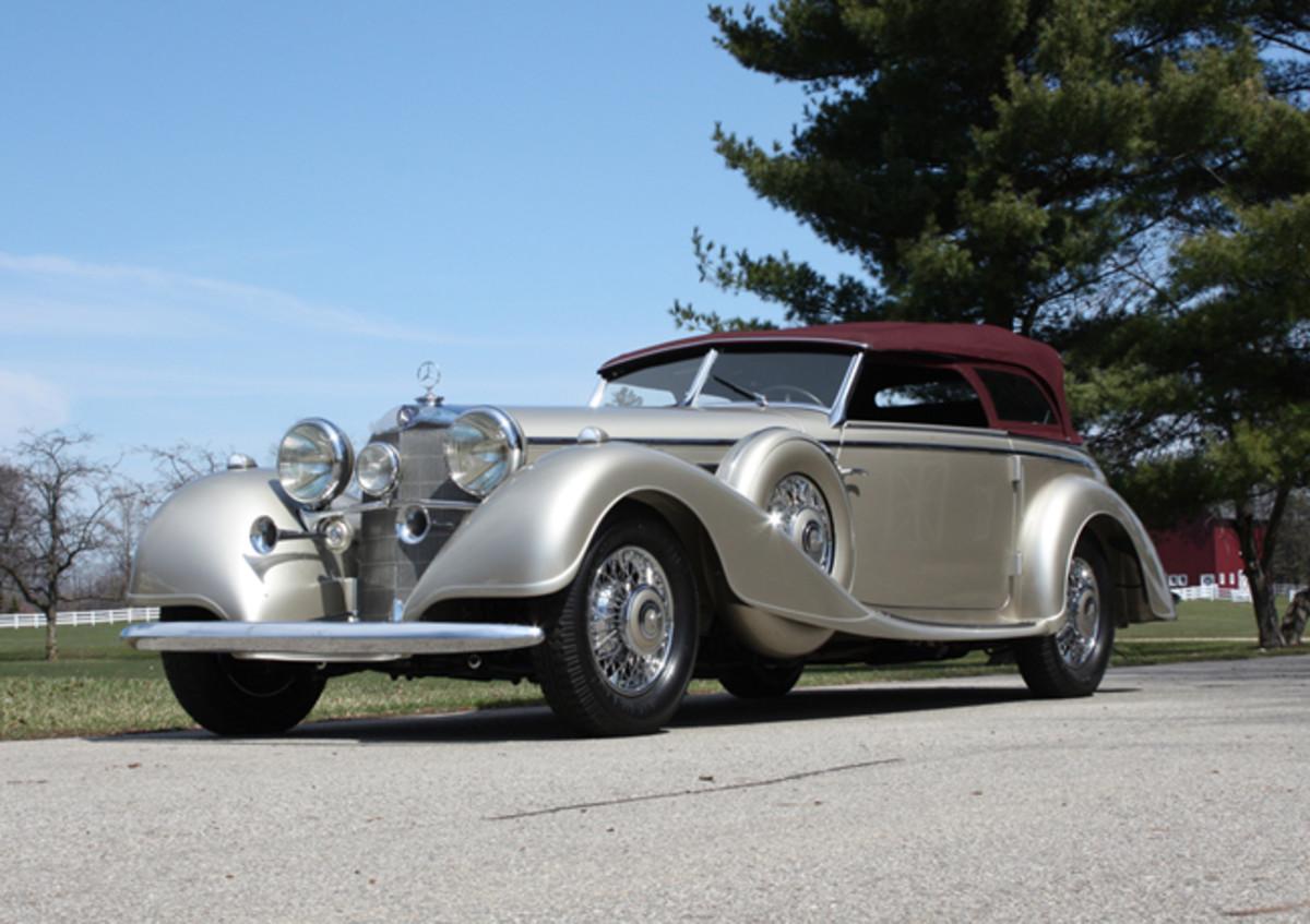 1938 Mercedes 540K- photo RM-Sothebys