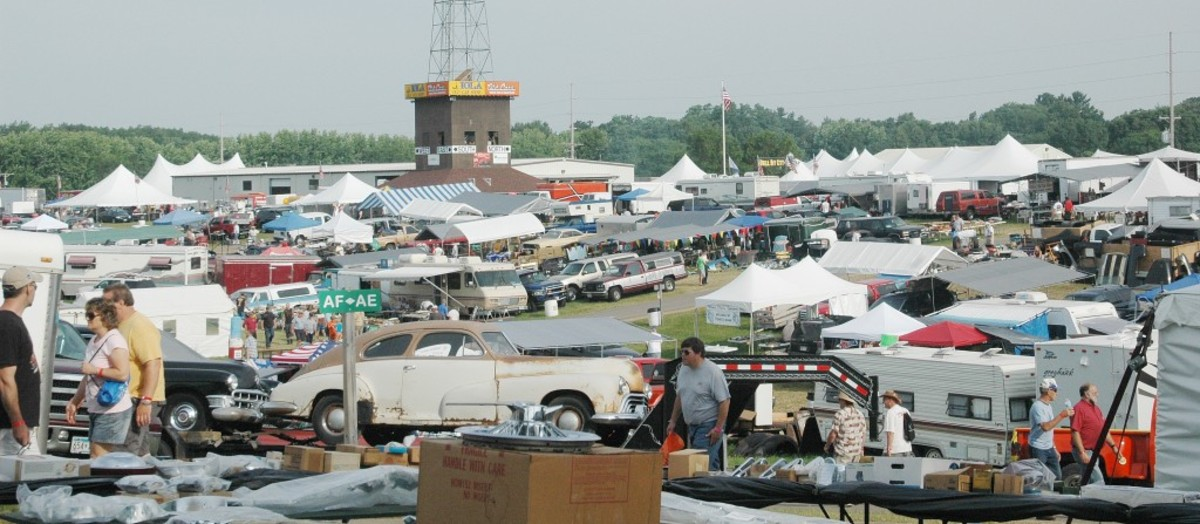 Each July the tiny town of Iola, Wis., is invaded by a sea of humanity and old iron. Many in attendance come strictly for the swap meet, which covers about 4,500 spaces.