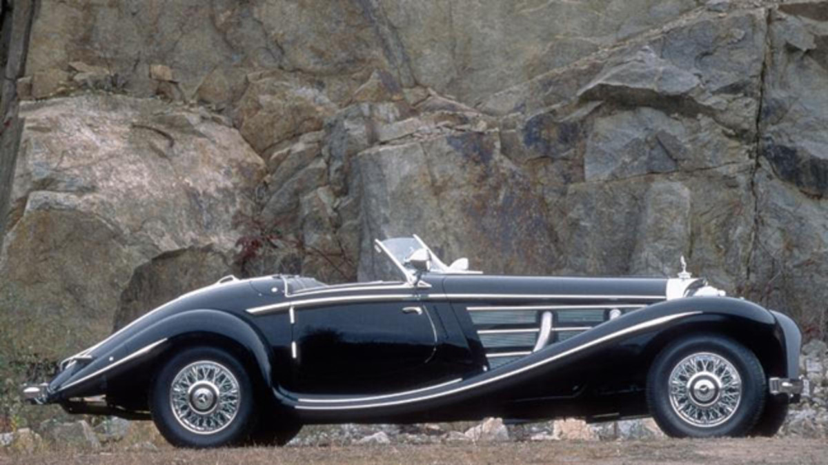 1937 Mercedes-Benz 540K Special Roadster - Photo courtesy of Richard and Melanie Lundquist