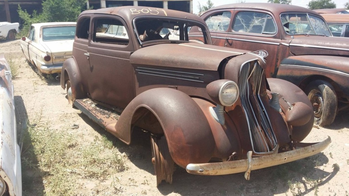 1936 Plymouth two door.