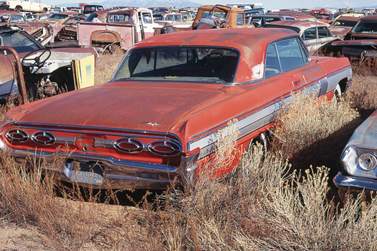 "A luxury liner with ""get up and go!,"" this complete 1962 Oldsmobile Starfire hardtop is in too nice of shape to be idled in a salvage yard."