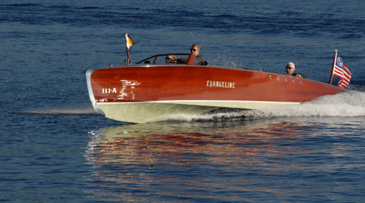 1924 Hacker Craft 33' Custom Runabout 'Evangeline' One-of-a-Kind Build for Henry Ford
