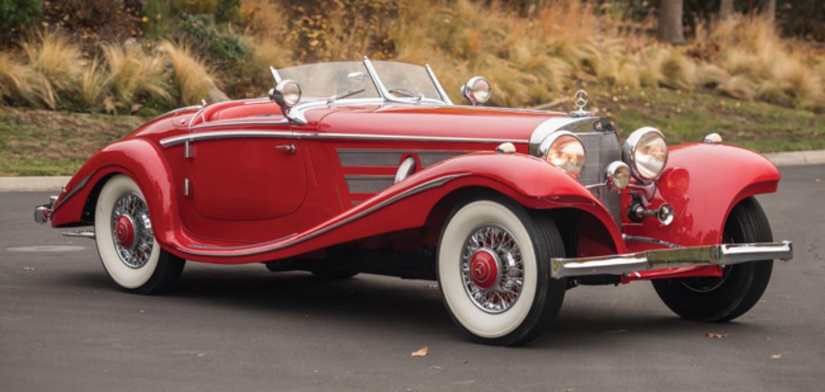 1936 Mercedes 540K - photo RM-Sothebys