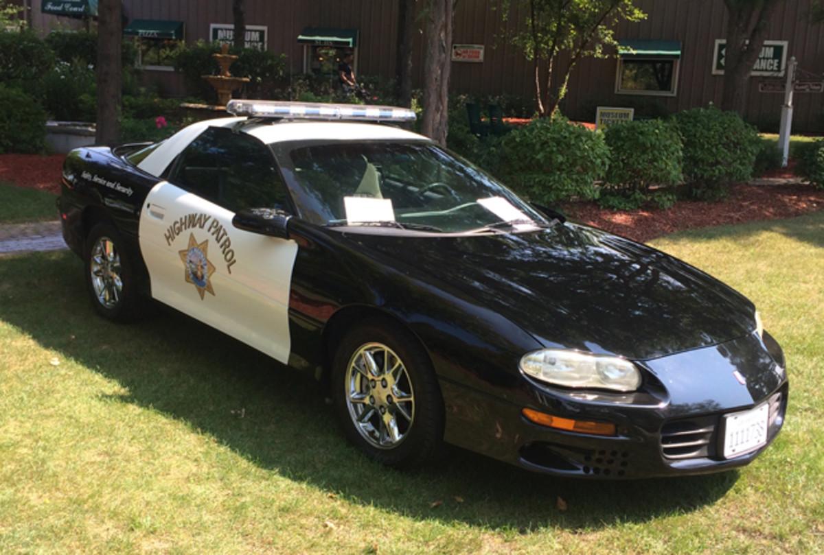 2002 Camaro B4C police car