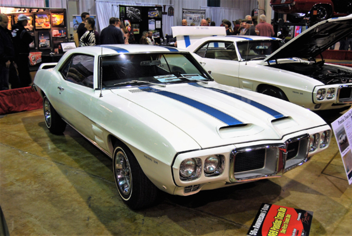 This 1969 Pontiac is the first Trans Am ever built.