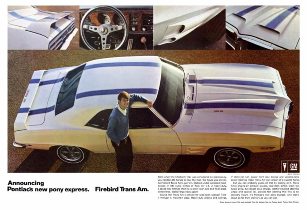 Pontiac was happy to add to the stable in 1969 as show in this advertisement.