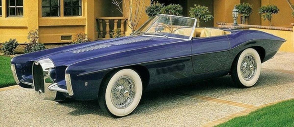 1965 Bugatti T101C Roadster by Virgil Exner/Carrozzeria Ghia