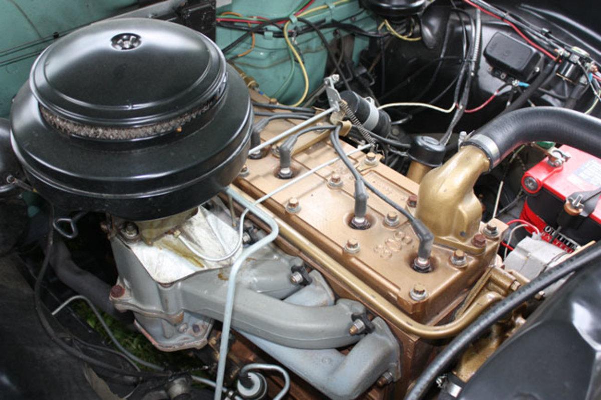 1952-Hudson-Wasp-engine