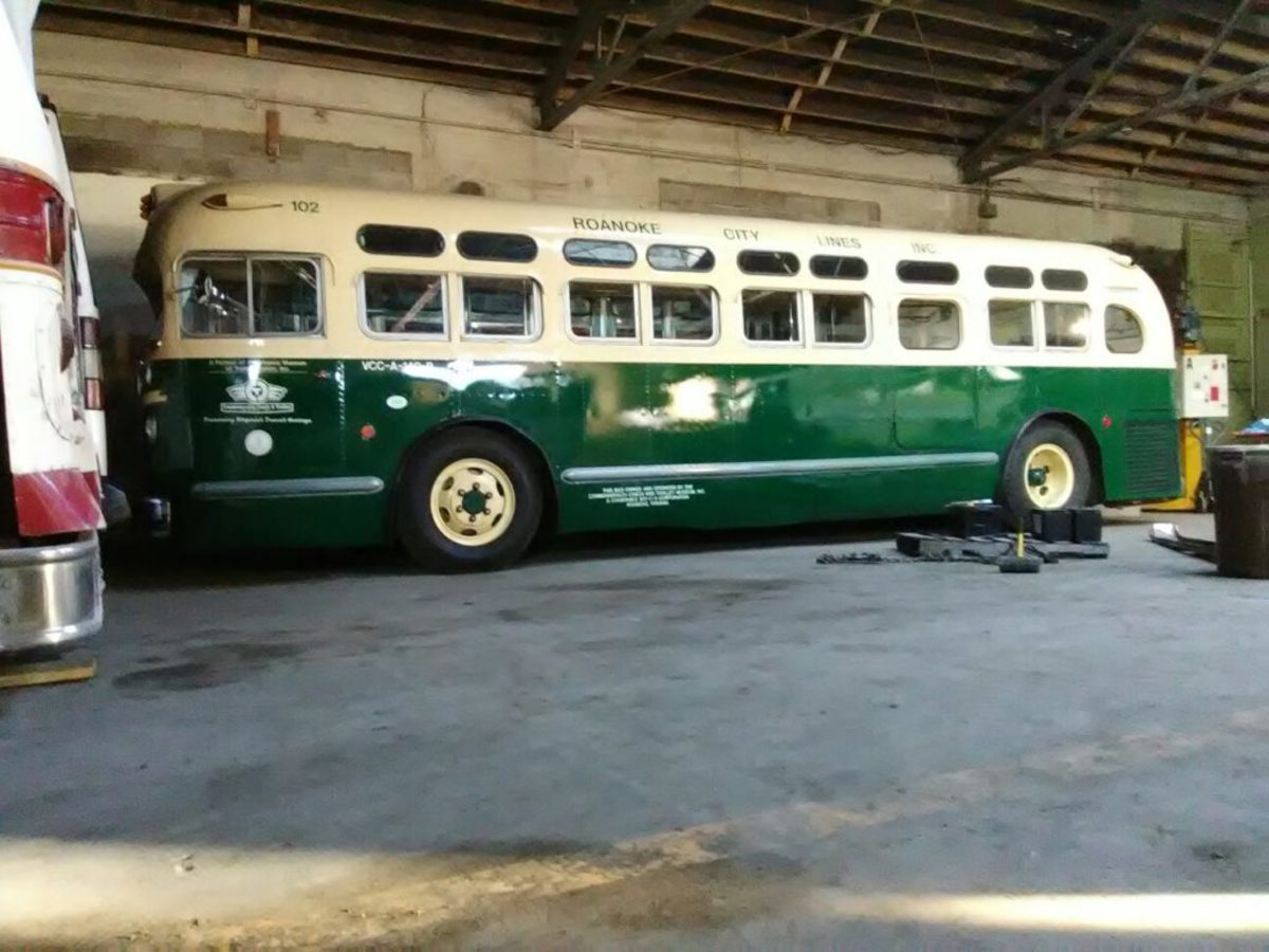 The museum's treasured Roanoke City Lines bus was the lone surviving example before the fire. The bus was found decaying in a thicket on a farm and then restored by the museum. It is now a complete loss.