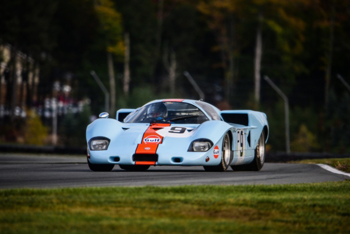 1969 Gulf Mirage M2/300/03 (photo credit: Michael DiPleco/Saratoga Automobile Museum)