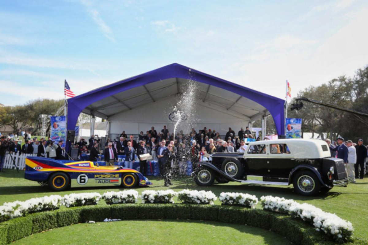 2020 Amelia Island Concours d'Elegance Best in Show winners. Photo - Amelia Island Concours d'Elegance