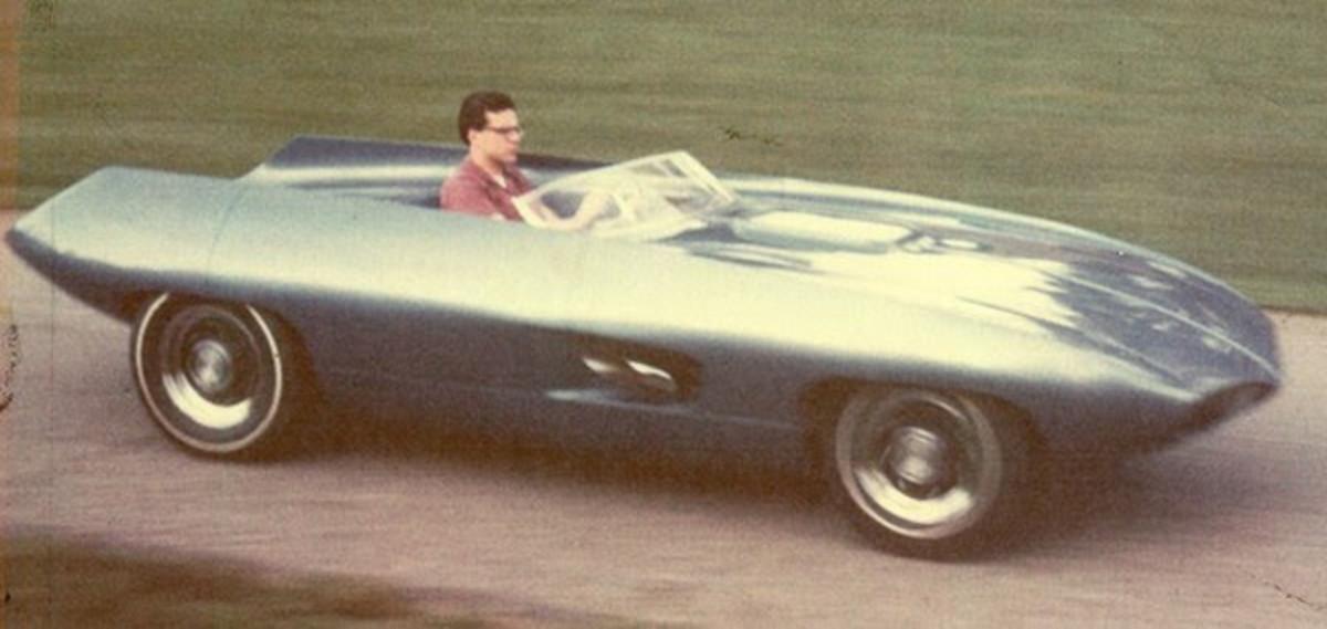 1965 Pontiac Vivant Roadster by Herb Adams