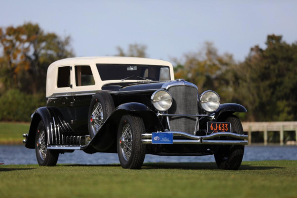 1929 Duesenberg J-218 Town Limousine. 2020 Best in Show, Concours d'Elegance. Photo - Amelia Island Concours d'Elegance