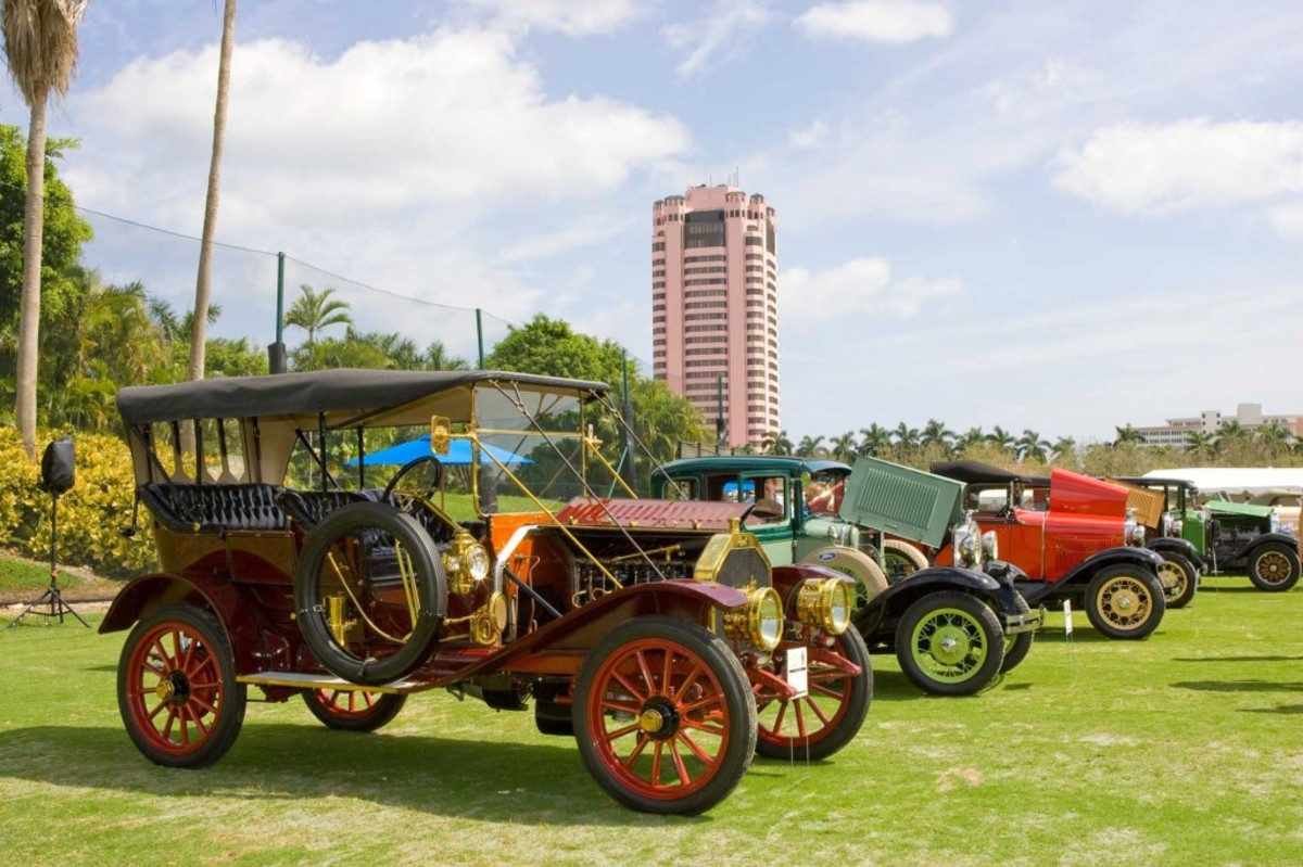 Boca Raton Concours d' Elegance on the Green
