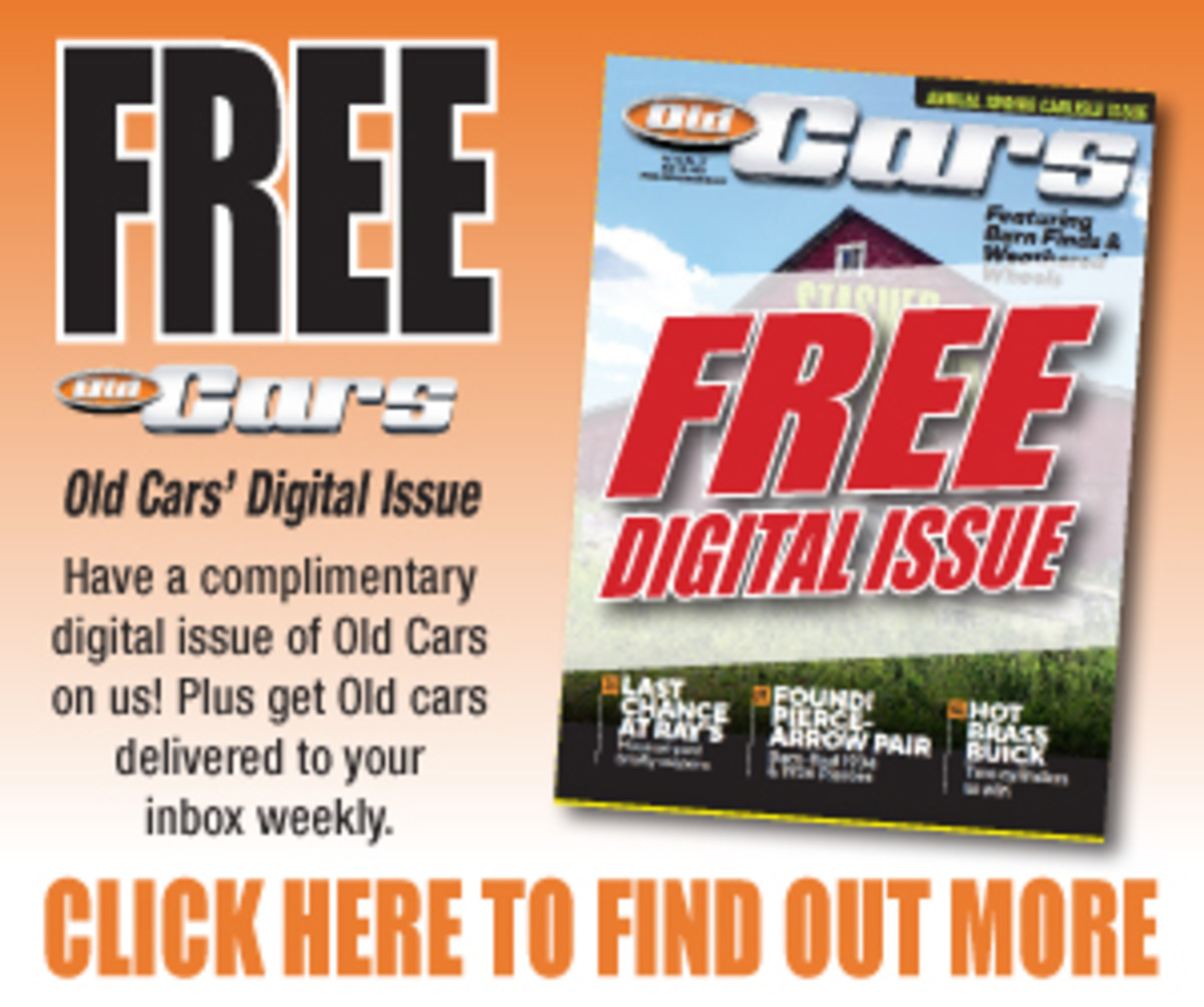 Old Cars FREE ISSUE Promo