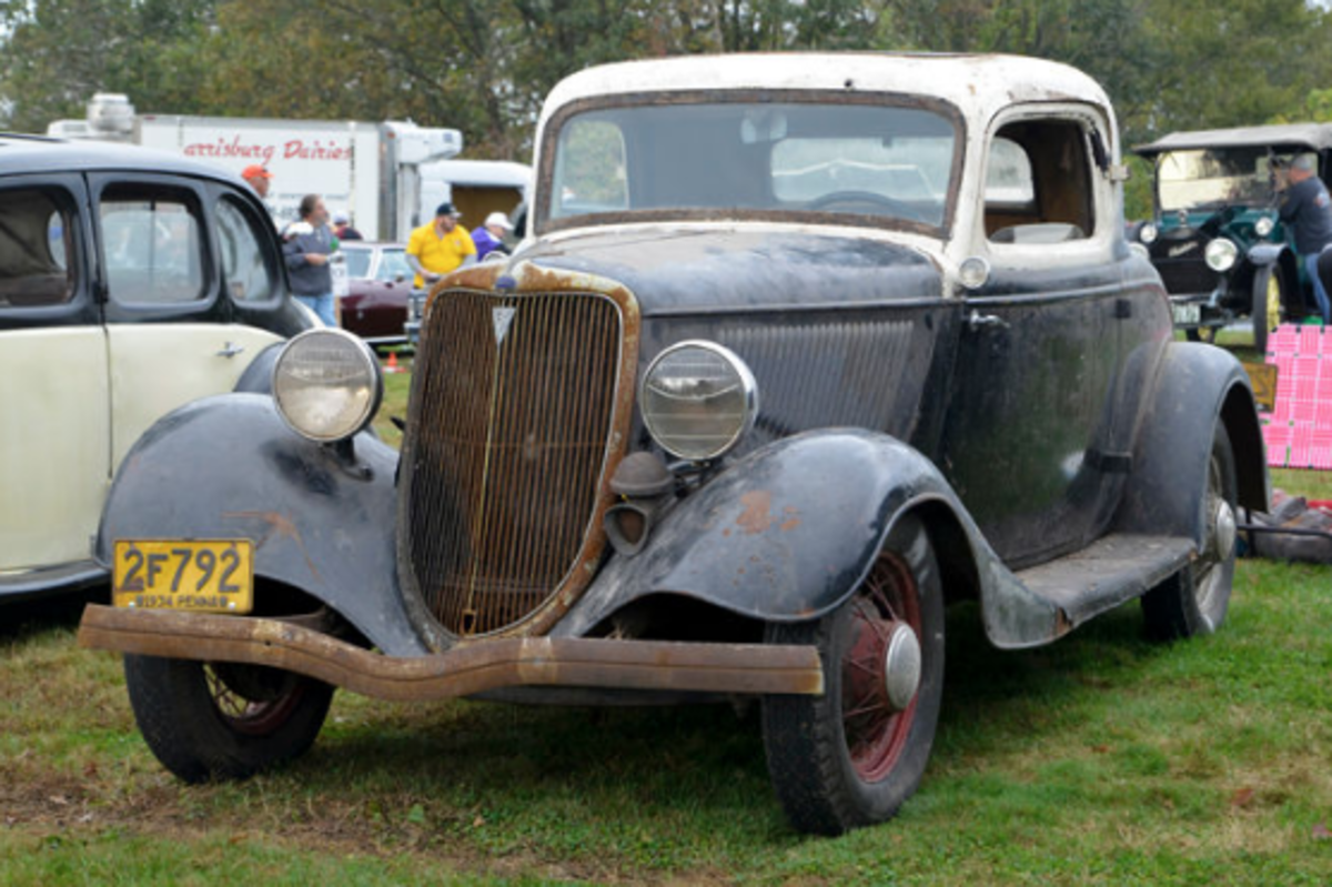 Car of the Week:1934 Ford three-window coupe - Old Cars Weekly