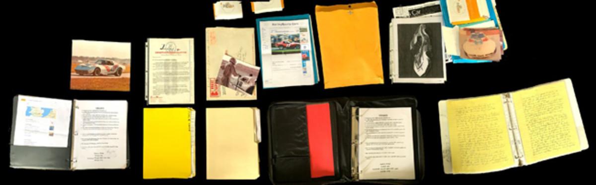 Complete documentation. Photo - Saratoga Automobile Museum