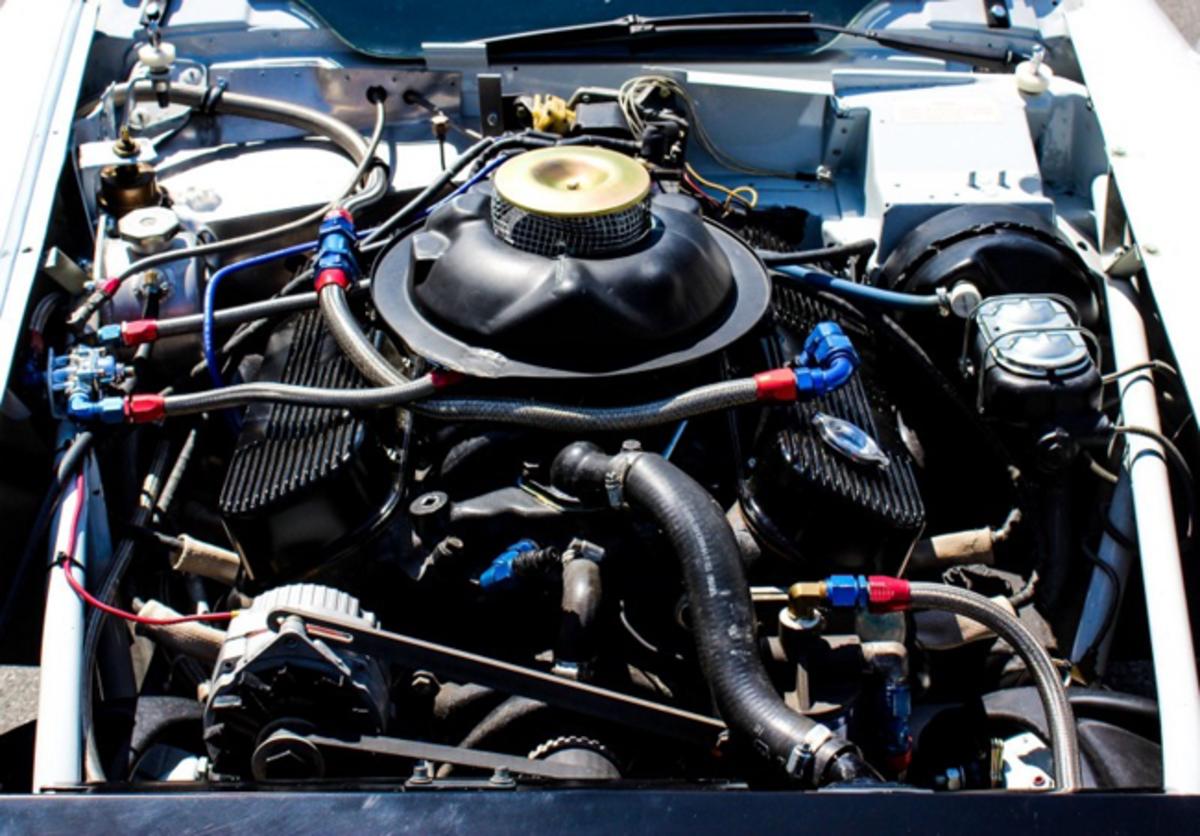 Thompson/Yenko Corvette Engine Bay in 2020. Photo - Saratoga Automobile Museum