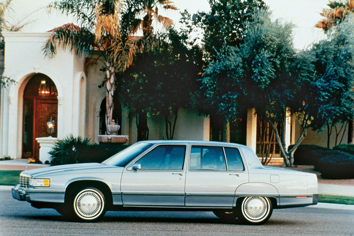 From 1987 to 1992, all Fleetwoods were based on the front-wheel-drive deVille and were called Fleetwood Sixty Specials. In 1993, the Fleetwood name went back to the big rear-wheel-drive Cadillac, and the front-wheel-drive car was simply called a Sixty Special