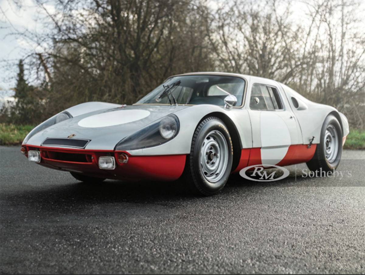 Lot 168 1964 Porsche 904 GTS Chassis No. 904-062 Estimate: €700,000 - €900,000 Offered Without Reserve