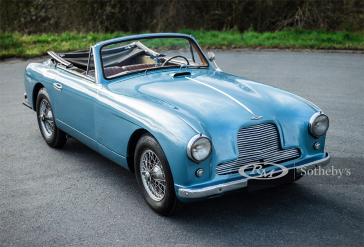 1955 Aston Martin DB2/4 Drophead Coupé Engine No. 370/574 Estimate: €150,000 - €200,000 Offered Without Reserve