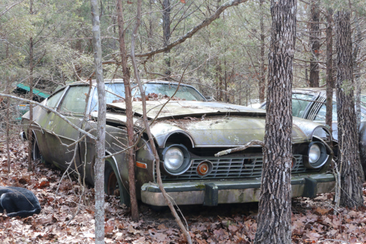 This 1975 AMC Matador coupe would make an excellent parts car or restoration project.