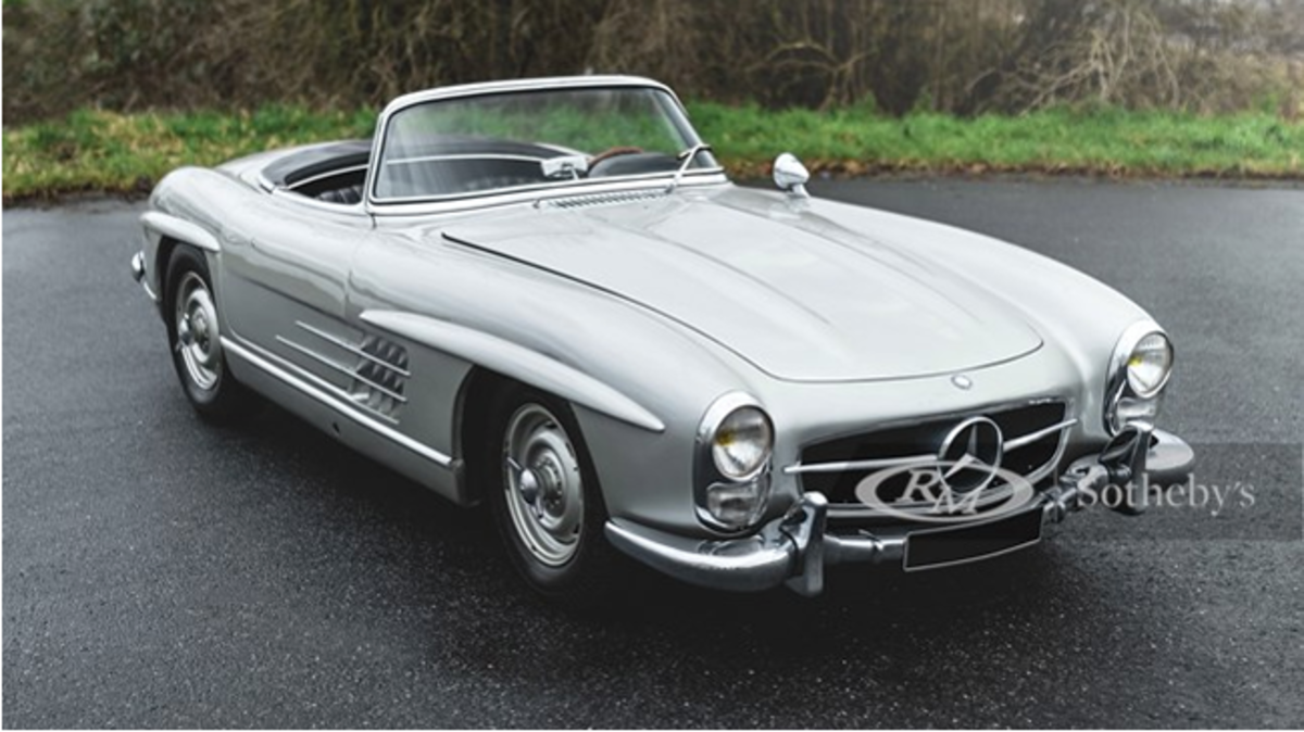 1958 Mercedes-Benz 300 SL Roadster Chassis No. 198.042.8500087 Estimate: €800,000 - €1,100,000 Offered Without Reserve