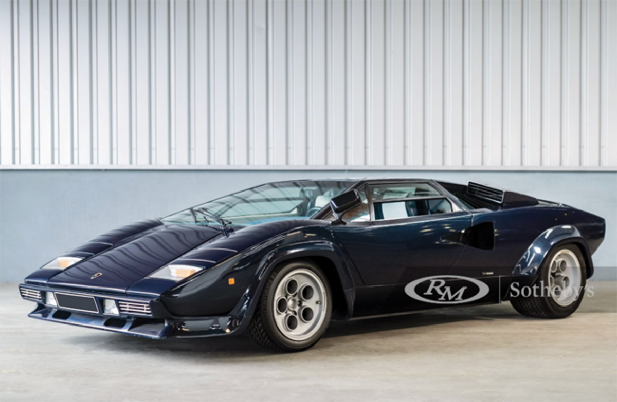 1979 Lamborghini Countach LP400 S by Bertone Chassis No. 1121066 Estimate: €400,000 - €500,000 - Offered Without Reserve