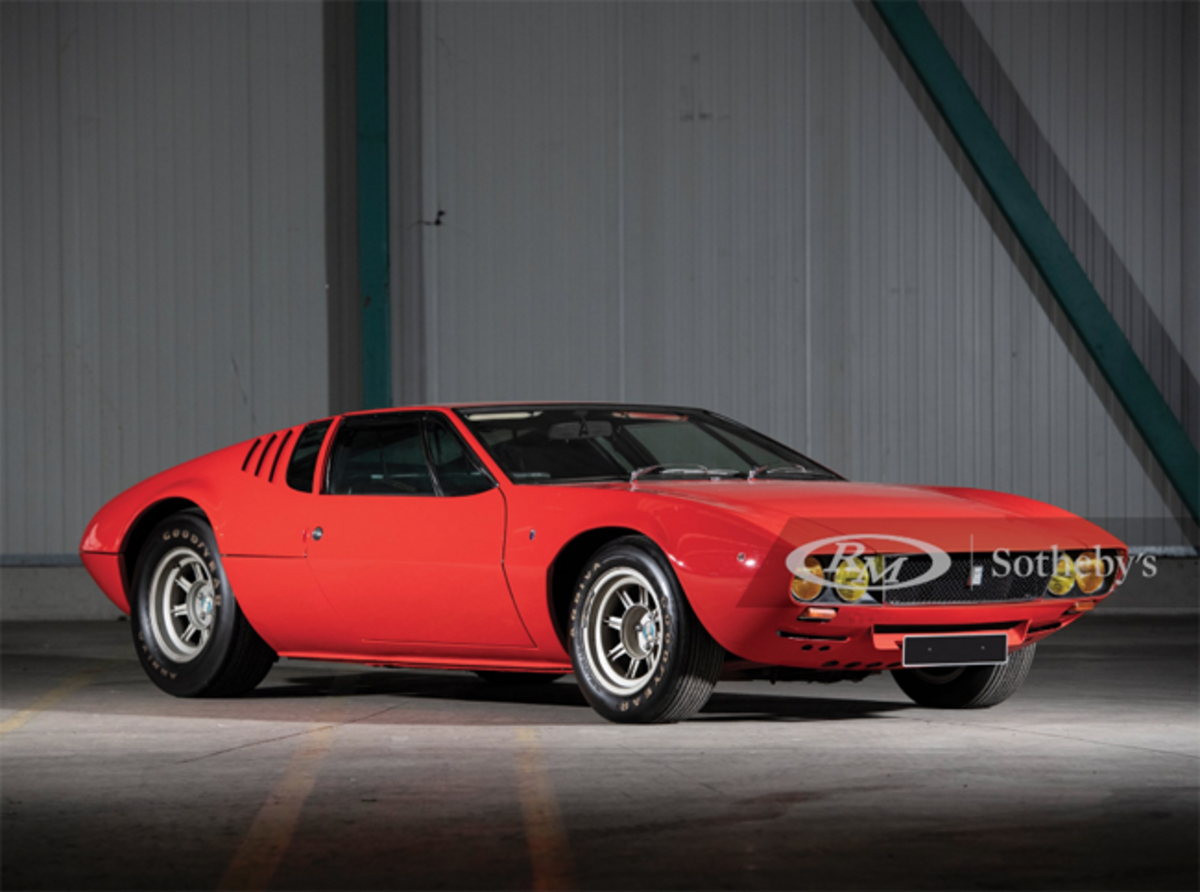 1971 De Tomaso Mangusta Chassis No. 8MA 1224 Estimate: €200,000 - €250,000 Offered Without Reserve