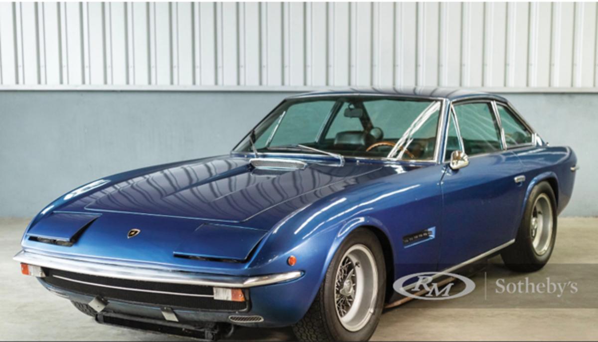 1970 Lamborghini Islero 400GTS Chassis No. 6591 Estimate: €200,000 - €250,000 Offered Without Reserve