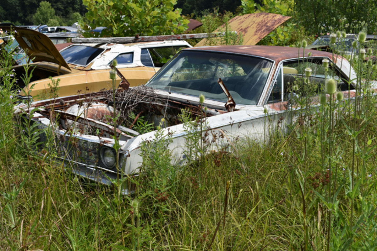 This 1966 Chrysler 300 hardtop had been at Purdin's for many years and will probably be here for many more to come.