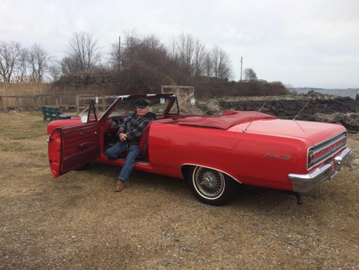 Don in his '65 Chevelle Malibu SS.