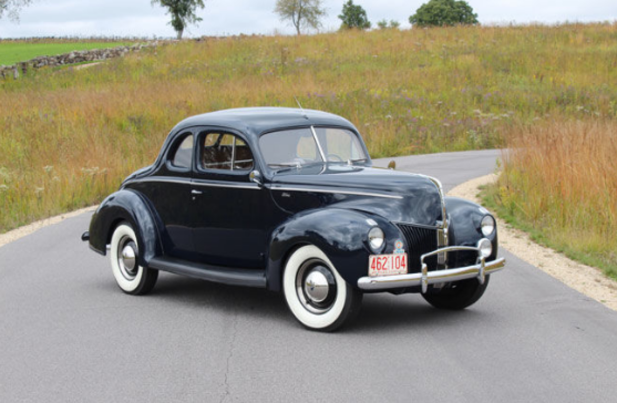 Car Of The Week 1940 Ford Standard Coupe Old Cars Weekly