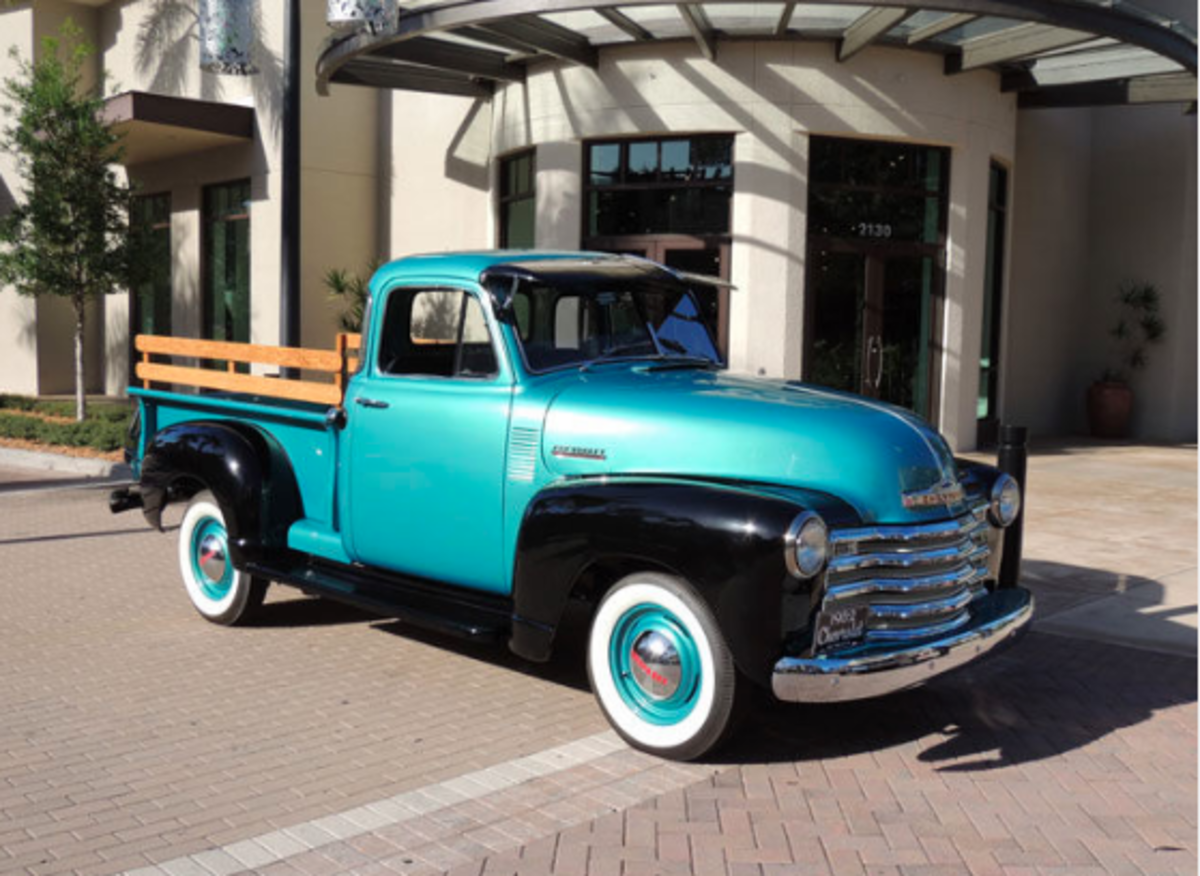 Car Of The Week 1952 Chevrolet 3100 Pickup Old Cars Weekly