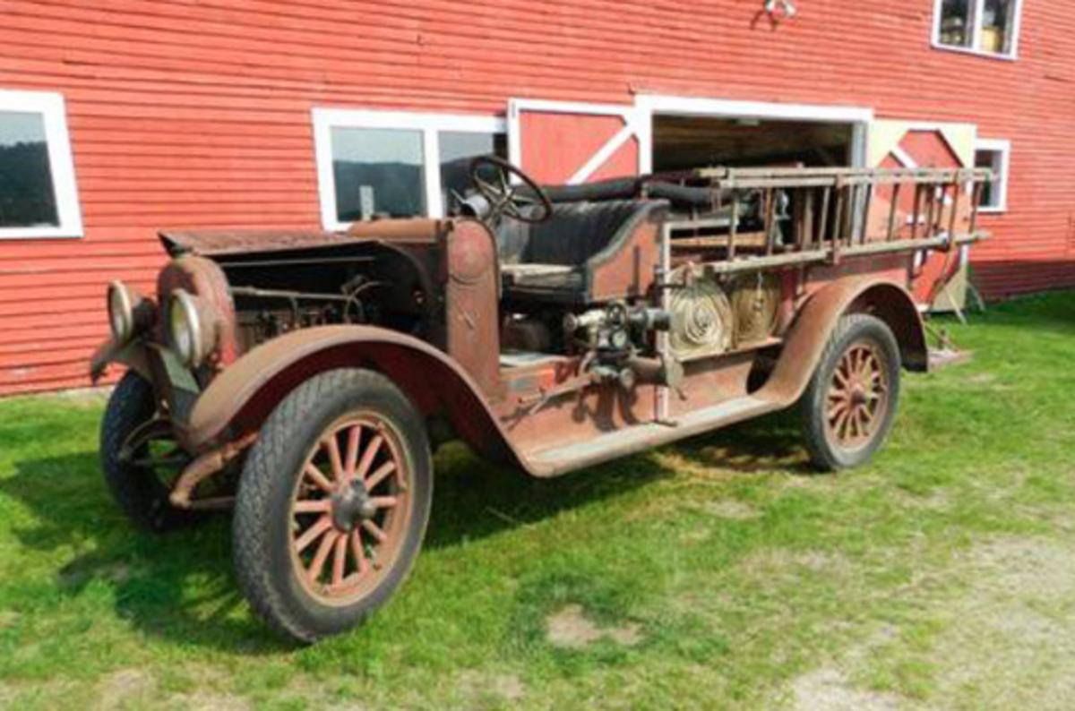 1923 REO fire truck