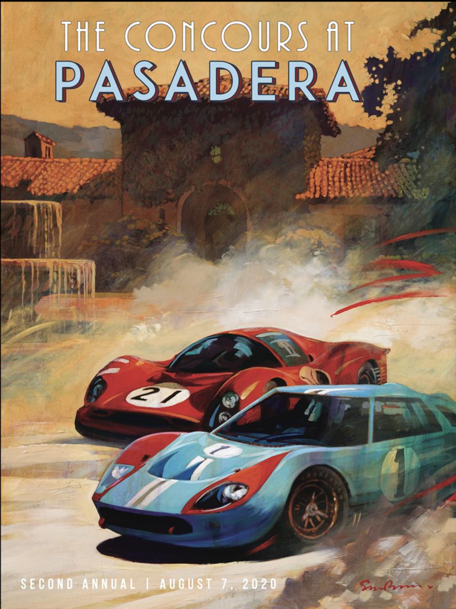 Concours at Pasadera Car Week 2020