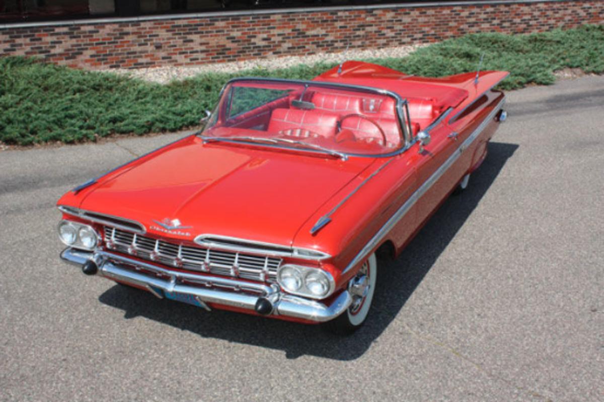 1959 Chevrolet Impala Overhead