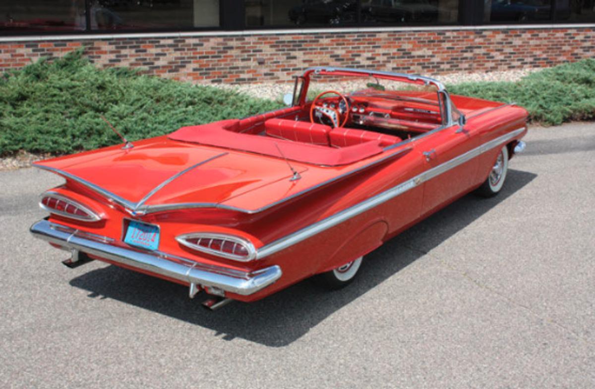 1959 Chevrolet Impala Rear
