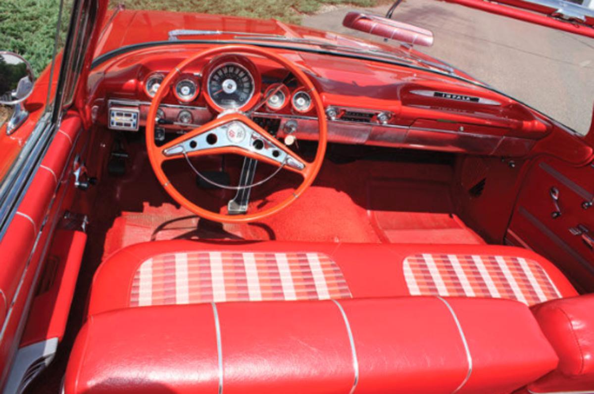 1959 Chevrolet Impal Rear Interior