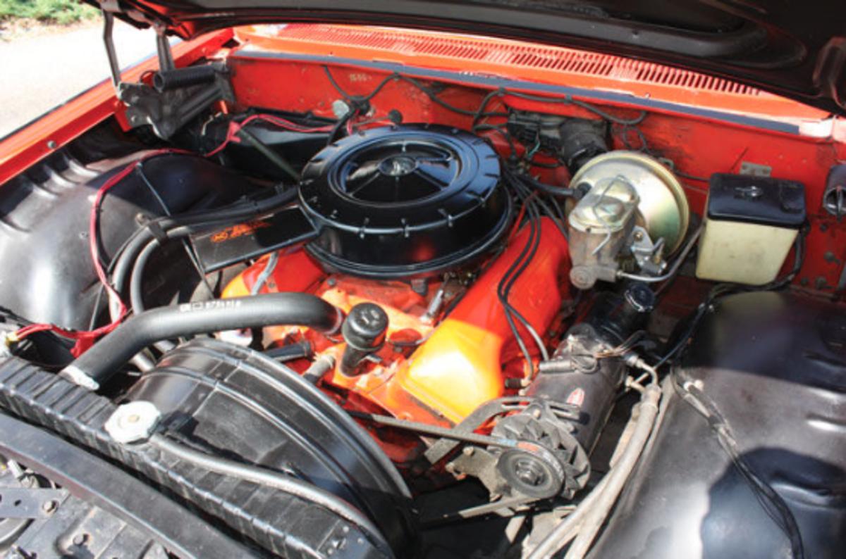 1959 Chevrolet Impala Engine