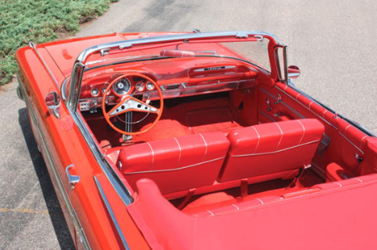 1959 Chevrolet Impala Front Interior