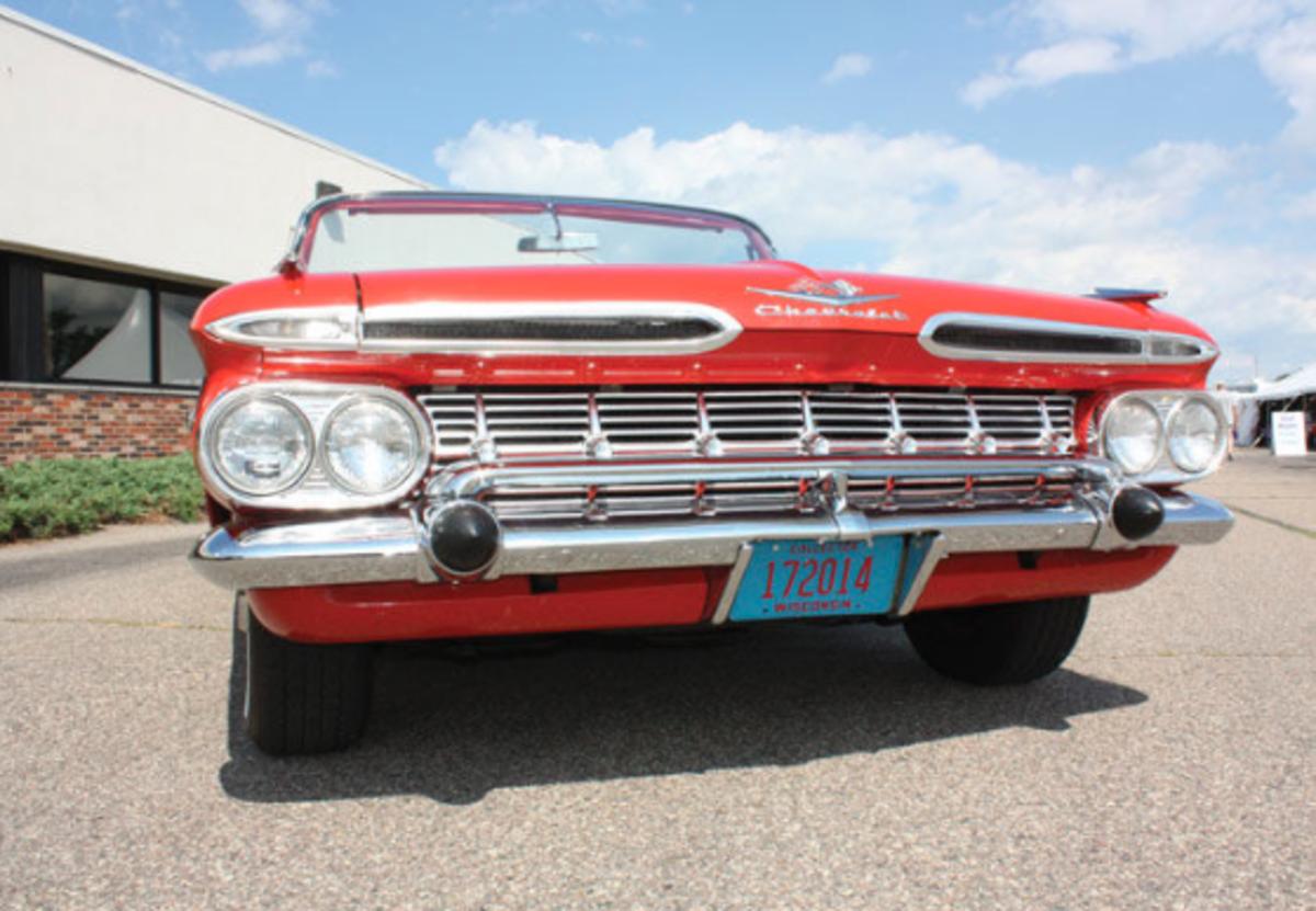 1959 Chevrolet Impala Frontal